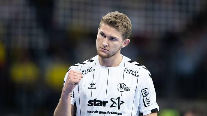 Magnus Landin und der THW Kiel bleiben auf Rang eins