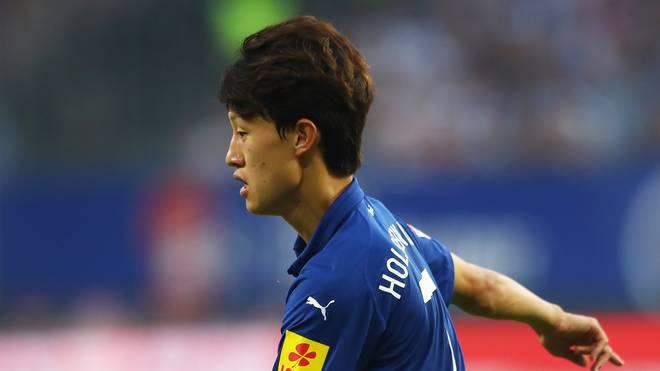 Jae-Sung Lee brachte Holstein Kiel gegen Dynamo Dresden in Führung