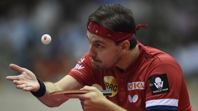 Timo Boll steht bei seinem DM-Abschied im Halbfinale
