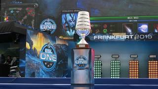 Pokal in der Electronic Sports League
