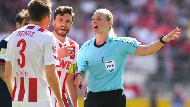 Bibiana Steinhaus leitete bereits acht Bundesliga-Spiele