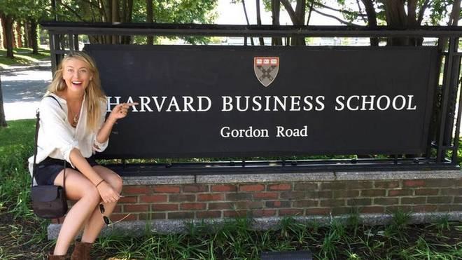 Maria Scharapowa beginnt ein Studium in Harvard