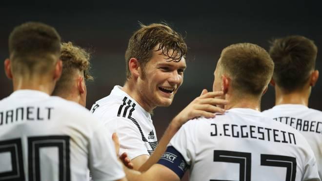Die deutsche U21-Nationalmannschaft gewinnt in der EM-Qualifikation mit 2:0 in Bosnien