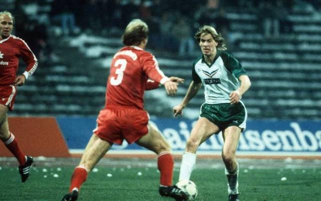 Wolfgang Sidka (r.) absolvierte unter anderem für Werder Bremen viele Bundesliga-Spiele