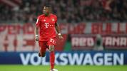 MUNICH, GERMANY - FEBRUARY 05: David Alaba of FC Bayern Muenchen in action during the DFB Cup round of sixteen match between FC Bayern Muenchen and TSG 1899 Hoffenheim at Allianz Arena on February 5, 2020 in Munich, Germany. (Photo by Christian Kaspar-Bartke/Bongarts/Getty Images)