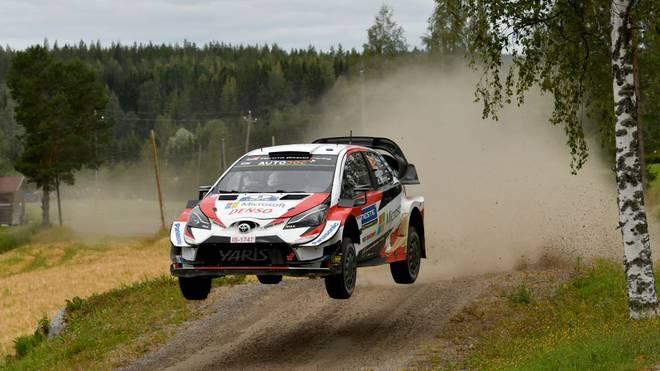 Ott Tänak führt nach dem ersten Tag bei der ADAC Rallye Deutschland