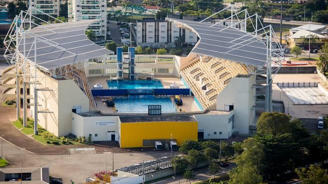 Im Maria Lenk Aquatic Center in Barra sollen Wasserspringen und Wasserball stattfinden bei Olympia 2016