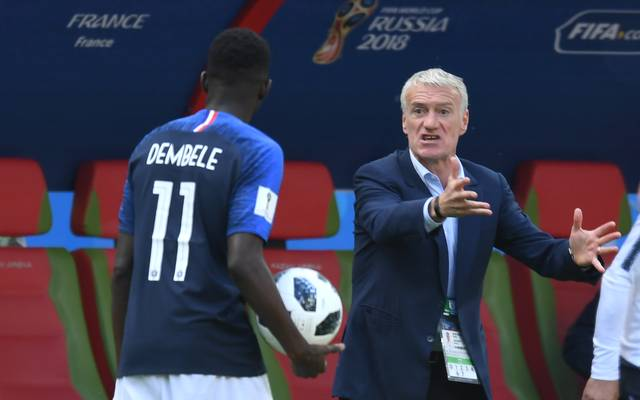 UEFA Nations League, Frankreich: Didier Deschamps zählt Ousmane Dembele an