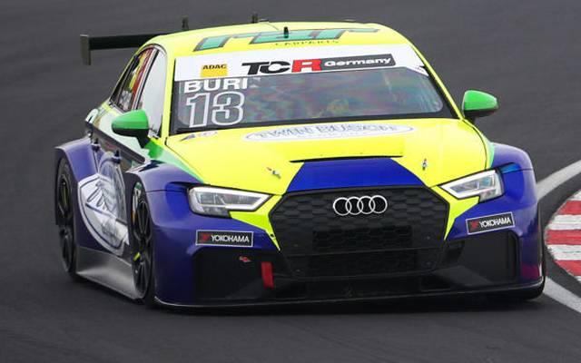 Antti Buri gewinnt das zweite Rennen der TCR Germany in Most