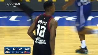 Dru Joyce erzielte in Frankfurt 17 Punkte