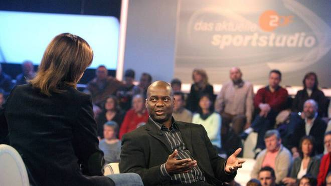 Ben Johnson bei einem TV-Auftritt 2007