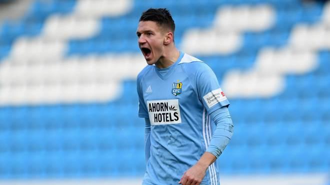 Daniel Frahn spielte von 2016 bis 2020 beim Chemnitzer FC