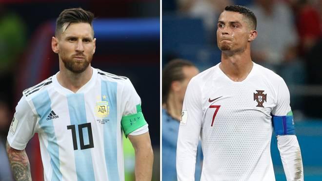 Lionel Messi (l.) und Cristiano Ronaldo sind die bestverdienenden Fußballer der Welt