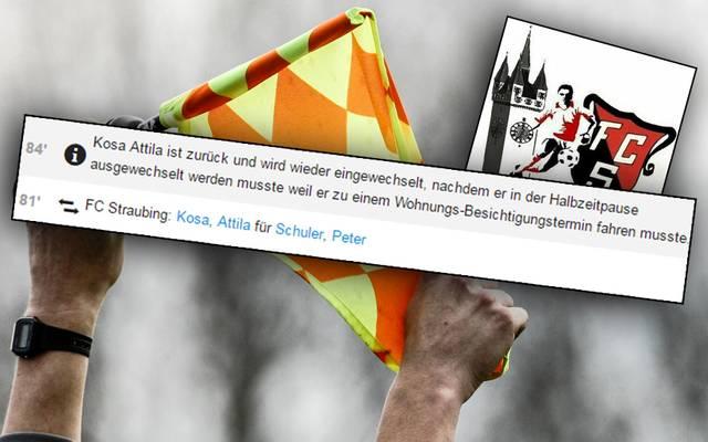 FC Straubing Auswechlsung