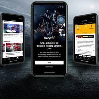 Intuitiv und blitzschnell: Die neue SPORT1 App ist da