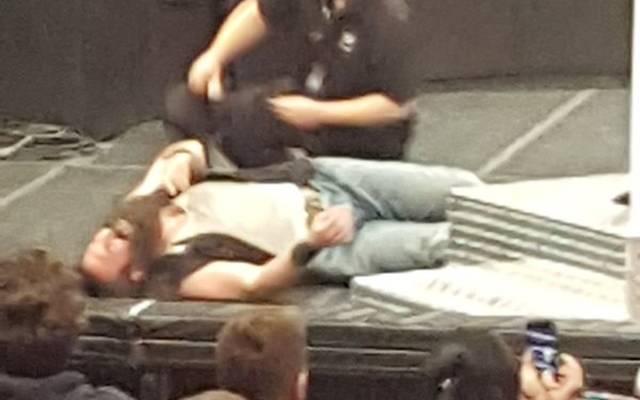 Luke Harper verletzte sich am Montag bei einer WWE-Show - offenbar schwer