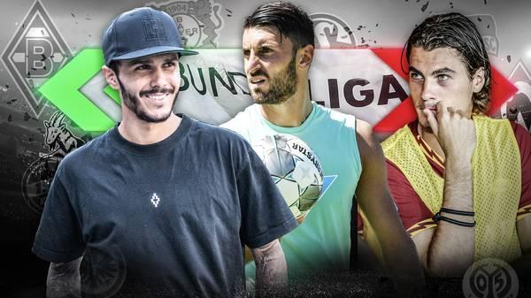Leonardo Bittencourt, Andre Silva und Patrik Schick wechselten am Deadline Day