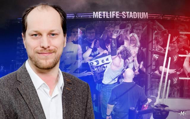 Martin Hoffmann berichtet für SPORT1 vor Ort vom WrestleMania-Wochenende in New York