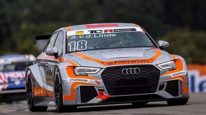 Erster Sieg für Audi-Pilot Sheldon van der Linde in der ADAC TCR Germany