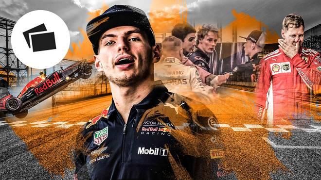 Max Verstappen hatte nicht nur mit Esteban Ocon Zoff
