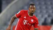 Bayern Munich's German defender Jerome Boateng controls the ball during the German Cup (DFB Pokal) semi-final football match FC Bayern Munich v Eintracht Frankfurt in Munich, southern Germany on June 10, 2020. (Photo by Kai PFAFFENBACH / POOL / AFP) / DFB REGULATIONS PROHIBIT ANY USE OF PHOTOGRAPHS AS IMAGE SEQUENCES AND QUASI-VIDEO. (Photo by KAI PFAFFENBACH/POOL/AFP via Getty Images)