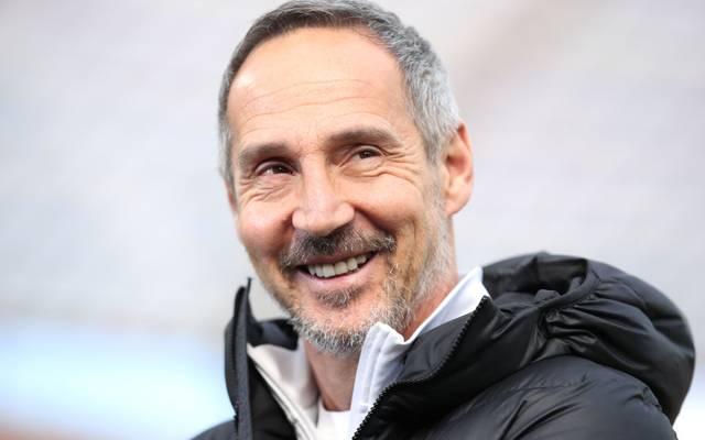 Adi Hütter freut sich riesig, wieder bei seiner Truppe zu sein