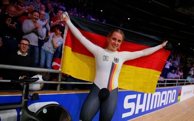 Emma Hinze ist die neue Sprint-Weltmeisterin