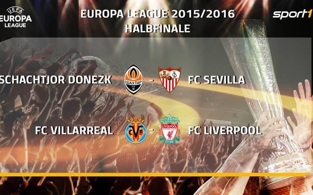 In Nyon wurden die Halbfinal-Partien in der UEFA Europa League ausgelost