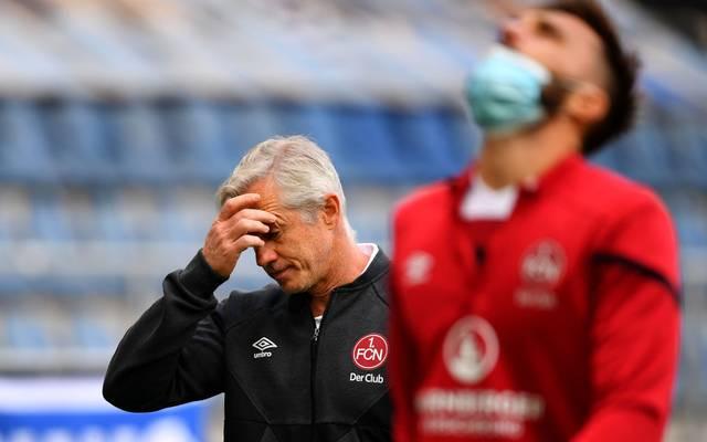 Jens Keller muss bei Nürnberg seinen Hut nehmen
