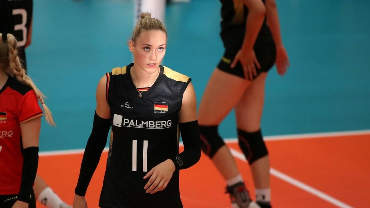 Louisa Lippmann verpasst die Volleyball Nations League