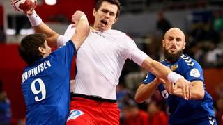 Russland-Dänemark-Handball-WM Rasmus Lauge Schmidt