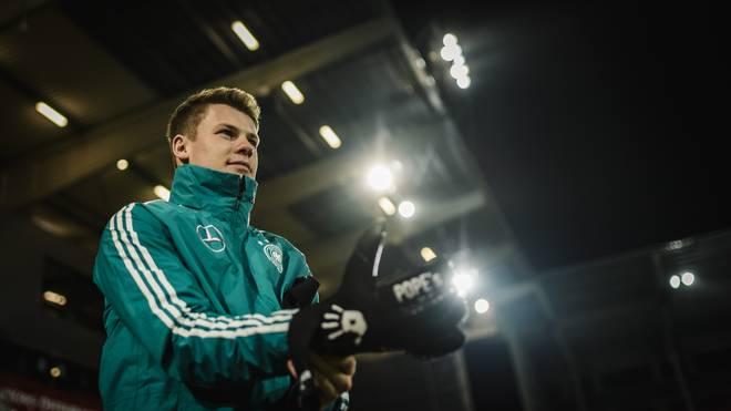 Alexander Nübel ist Stammtorhüter der deutschen U21-Nationalmannschaft