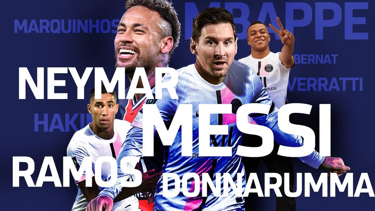 Neben Donnarumma, Wijnaldum und Hakimi verpflichtet PSG jetzt auch noch Superstar Lionel Messi. Sind die Pariser nun die neuen Galaktischen?