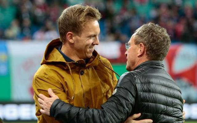 Julian Nagelsmann wurde bei Leipzig Nachfolger von Ralf Rangnick als Cheftrainer