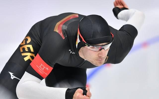 Lief über 1000 m auf Platz neun: Joel Dufter