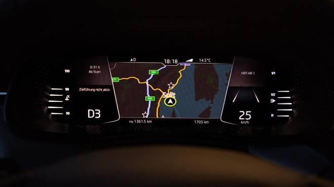 Skoda bietet zum ersten Mal in der Kleinwagen-Klasse digitale Instrumente an