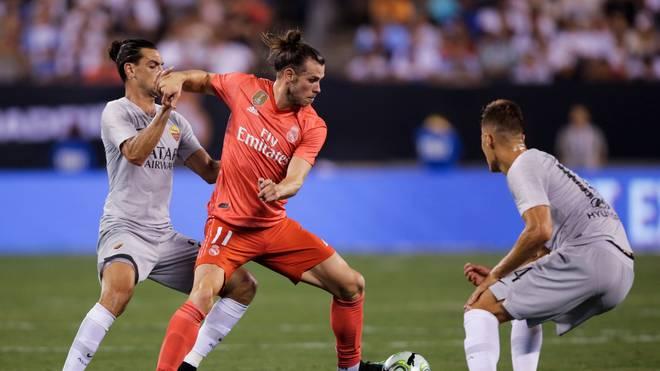 Gareth Bale glänzte beim Sieg der Madrilenen gegen Rom mit einem Tor und einer Vorlage