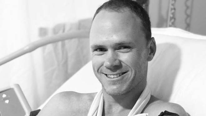 Christopher Froome hat sich mit einem Küchenmesser am Daumen verletzt