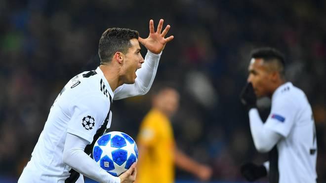 Cristiano Ronaldo muss reichlich Kritik in Italien einstecken
