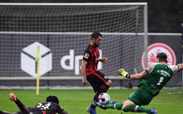 Eintracht Frankfurt verliert Testspiel gegen Würzburger Kickers
