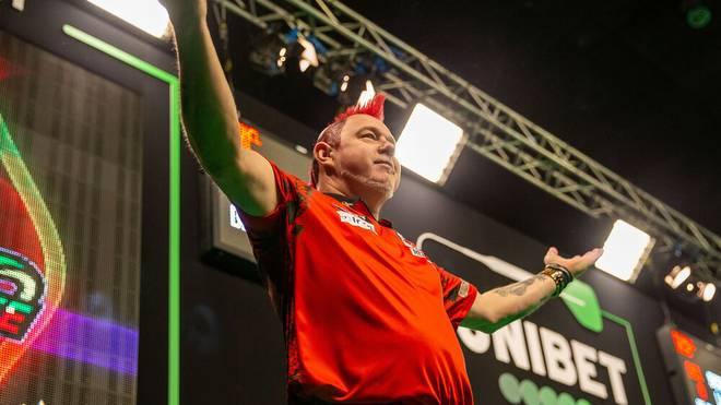 Peter Wright wurde 2020 erstmals Darts-Weltmeister