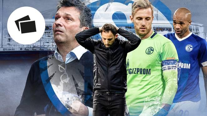 SPORT1 zeigt die Chronologie des Schalker Absturzes