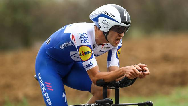 Jannik Steimle fährt mit der Vuelta seine erste Grand Tour