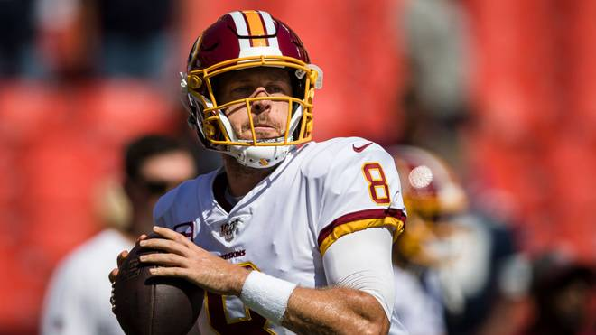 Case Keenum, Quarterback der Washington Redskins