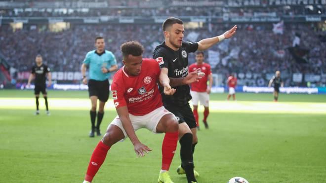 Ein heißes Derby steht an: Frankfurt ist in Mainz gefordert