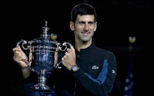 Novak Djokovic nach seinem Triumph bei den US Open 2018