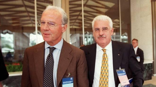 Franz Beckenbauer war Chef des WM-OK 2006, Fedor Radmann bis 2003 sein Vize