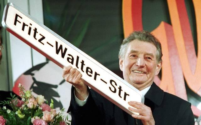 Fritz Walter war Kapitän der deutschen Weltmeister-Mannschaft 1954