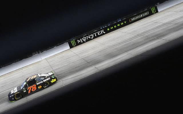 Martin Truex Jr. im #78 Furniture-Row-Toyota bestimmt das NASCAR-Bild 2017
