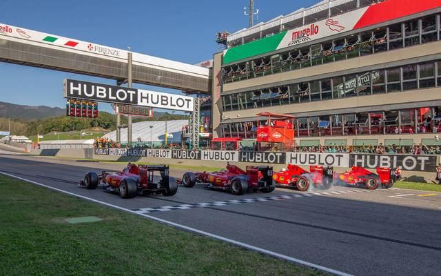 In Mugello feiert Ferrari im September sein Heimspiel vor tausenden Fans